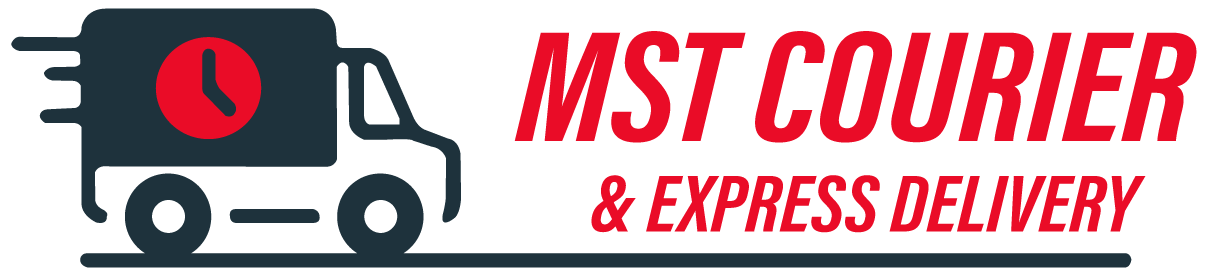 MST Courier & Express Delivery Logo